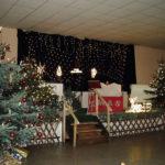 Der geschmückte Saal für die Nikolausfeier 2016